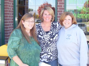 Genny, Heide, and Me