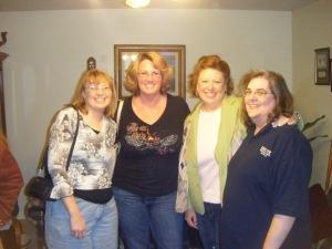 Kelly, Heide, Me, Tash